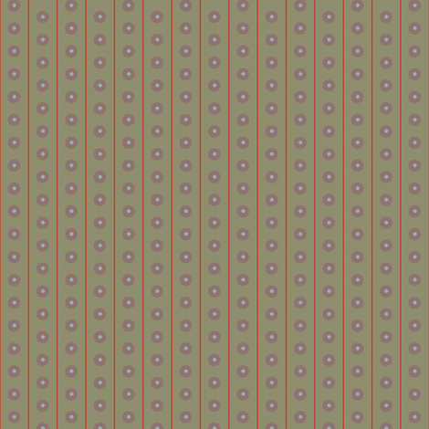 Peru Dot (Olive with line) fabric by david_kent_collections on Spoonflower - custom fabric