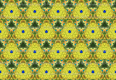 Peacock Kaleidoscope #11