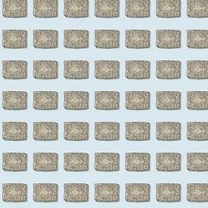 Biscuit Fabric - Custard Cream