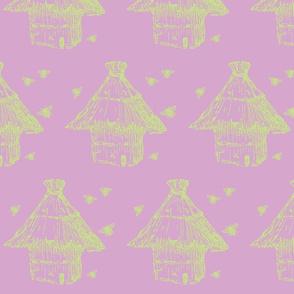 buzzz (lilac & lime)