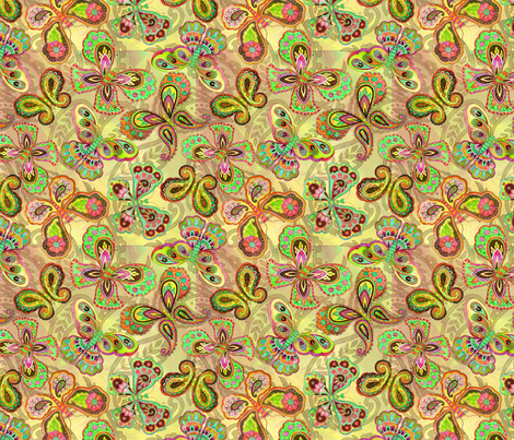 BHB-WMB_Butterfly fabric by wendybentley on Spoonflower - custom fabric