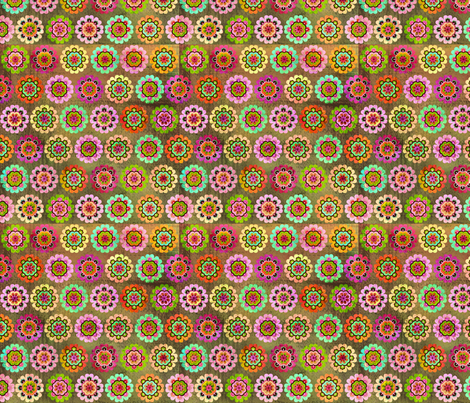 BHB-WMB_Lg_Flower fabric by wendybentley on Spoonflower - custom fabric