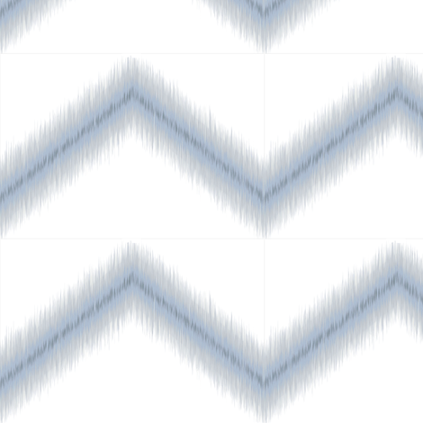 Ikat Zig Zag / Blue Grey fabric by mjdesigns on Spoonflower - custom fabric