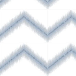 Ikat Zig Zag / Blue Grey