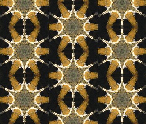 French Turtle Dove Mandala fabric by dovetail_designs on Spoonflower - custom fabric
