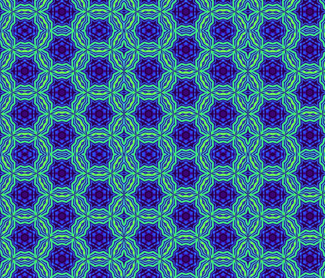 Electric Iris  fabric by dovetail_designs on Spoonflower - custom fabric