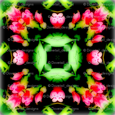 Bleeding Hearts Mandala 1