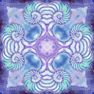 Nautilus Dance Mandala 1