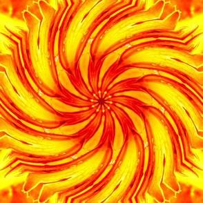 Day Lily Swirl 1