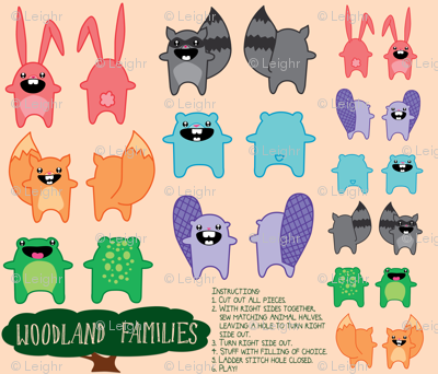 Woodland Families