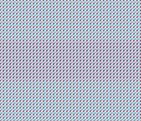 woof Blue & Pink fabric by joybucket on Spoonflower - custom fabric