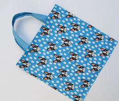 Boston Terrier Bat Tote Bag