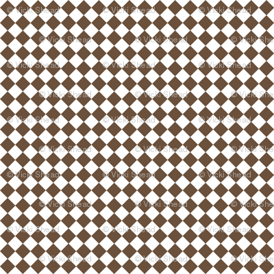 Diamond Pattern in Coffee Liqueur