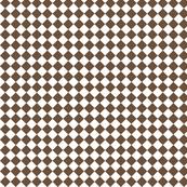 Diamond Pattern in Coffee Liqueur