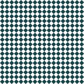 Diamond Pattern in Deep Teal