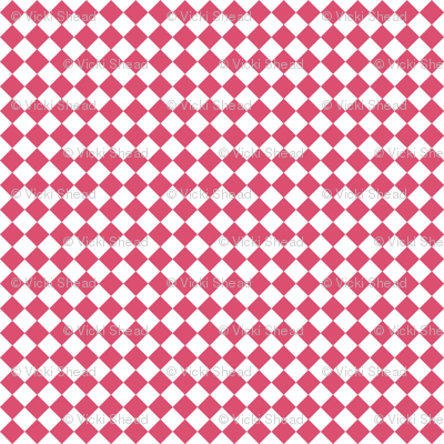 Diamond Pattern in Honeysuckle