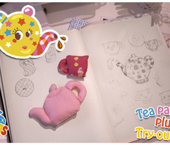 Tea Party Plush