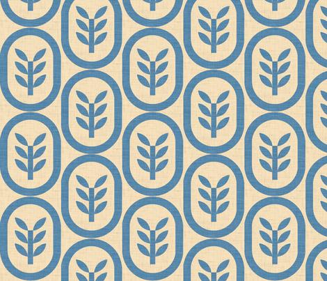 wheat copenhagen fabric by holli_zollinger on Spoonflower - custom fabric