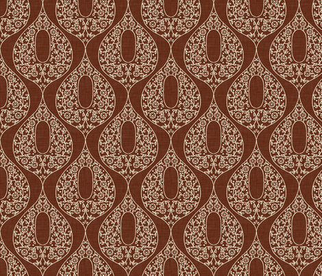 umbraline_brown fabric by holli_zollinger on Spoonflower - custom fabric