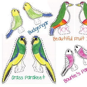 Exotic Bird Stuffed Animals