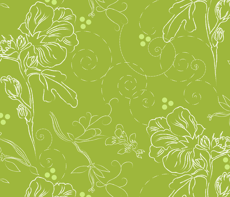 Summer Bouquet fabric by marlene_pixley on Spoonflower - custom fabric