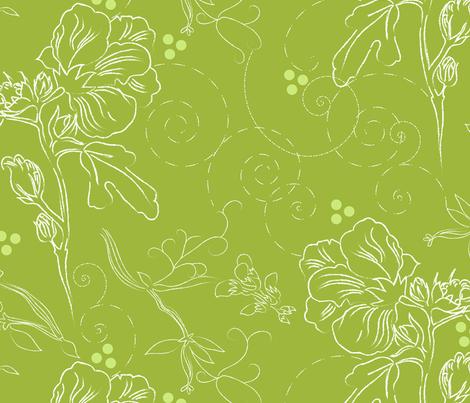 Summer Bouquet fabric by marlene_pixley on Spoonflower - custom fabric
