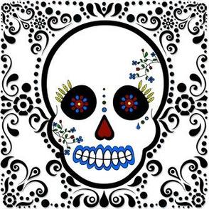 Day of the Dead - Día de los Muertos - Sugar Skull Print