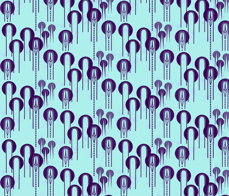 Are they mobbing up? fabric by su_g on Spoonflower - custom fabric