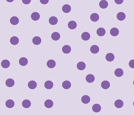 purple_polka_dots fabric by melodiemw on Spoonflower - custom fabric