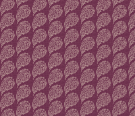line_paisley_purple fabric by holli_zollinger on Spoonflower - custom fabric