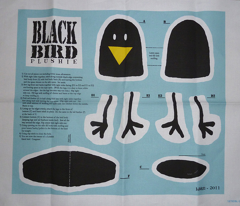 Black Bird Plushie