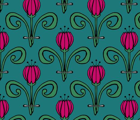 Tulip Tulip fabric by pond_ripple on Spoonflower - custom fabric
