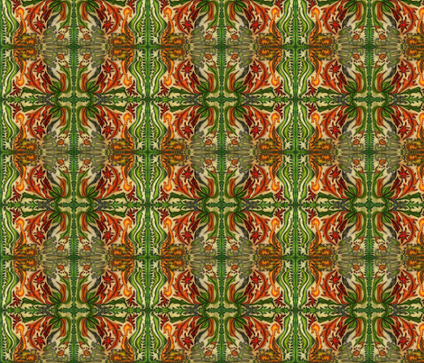 jungle pattern fabric by lizartseattle on Spoonflower - custom fabric