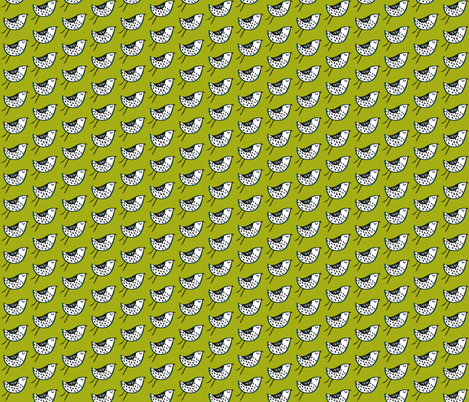 Birdie fabric by petchy on Spoonflower - custom fabric