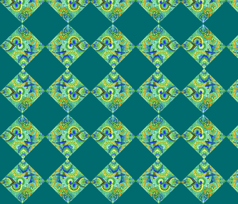Paisley Cheater Quilt Squares fabric by edsel2084 on Spoonflower - custom fabric