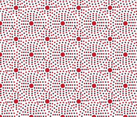 little_red_riding_hood_dots fabric by studio30 on Spoonflower - custom fabric