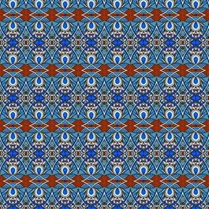 Blue Diamond Abstract #734530