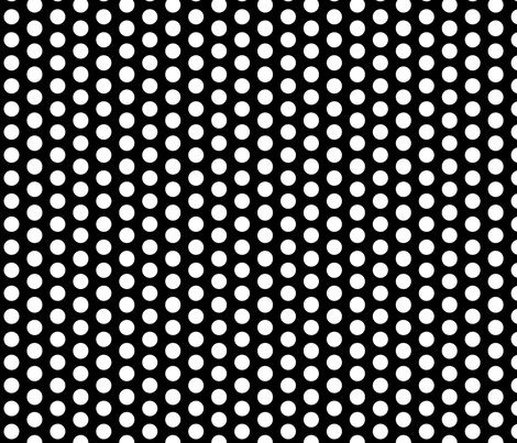 Chirp Black Dots fabric by natitys on Spoonflower - custom fabric