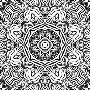 Monochrome Kaleidoscope - 8B