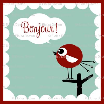 Bonjour Bird!