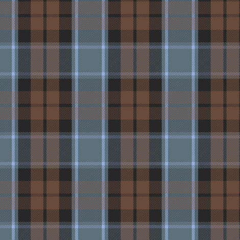 Graham of Menteith tartan (weathered, reverse) fabric by weavingmajor on Spoonflower - custom fabric