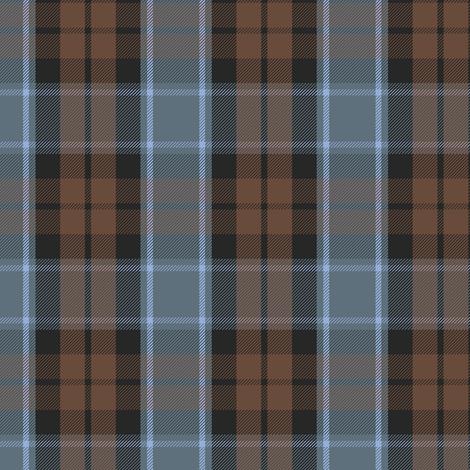 Graham of Menteith tartan (weathered, reverse) fabric by weavingmajor on Spoonflower - custom fabric