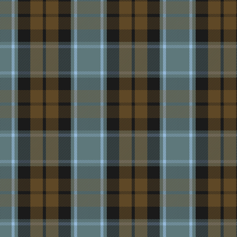Graham of Menteith tartan (weathered, reverse)