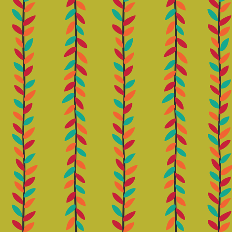 Happy Vines fabric by gracedesign on Spoonflower - custom fabric