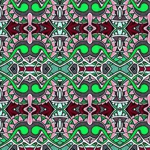 Gearhead (pink/green)