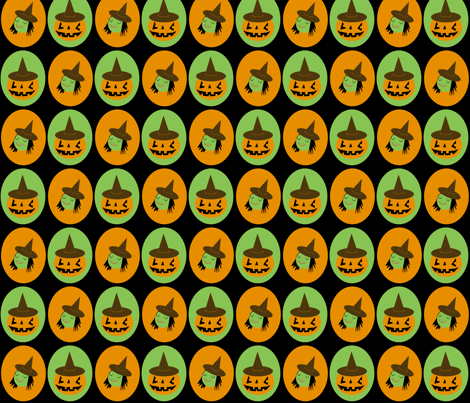Halloween Witches fabric by heidikenney on Spoonflower - custom fabric