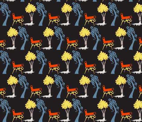 Burgess Shale fabric by boris_thumbkin on Spoonflower - custom fabric