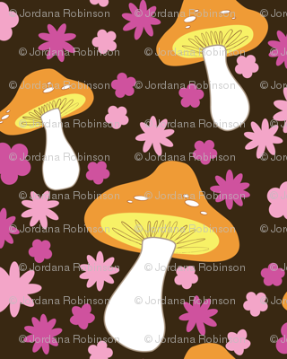 mushrooms (brown)