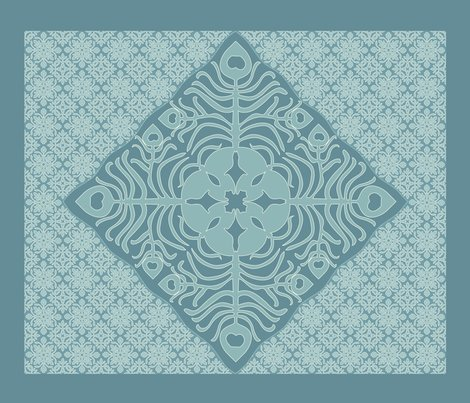 Rrpeacock_feather_butterfly_hawaiian_quilt3_marine-blue_aqua-revise-dk_shop_preview