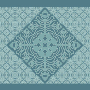 Peacock_Feather_&_Butterfly_Hawaiian_Quilt3_BLUE-GRAY_AQUA-revised-dk